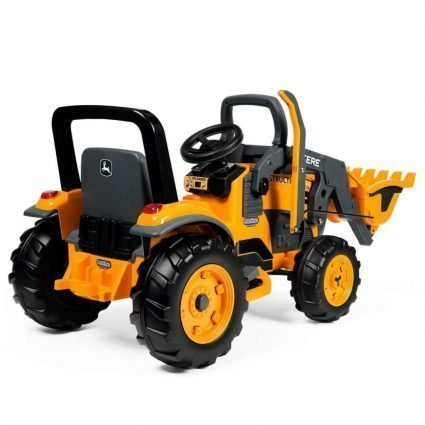 Электромобиль- трактор Peg-Perego John Deere Construction Loader (скорость до 7,3 км/ч)